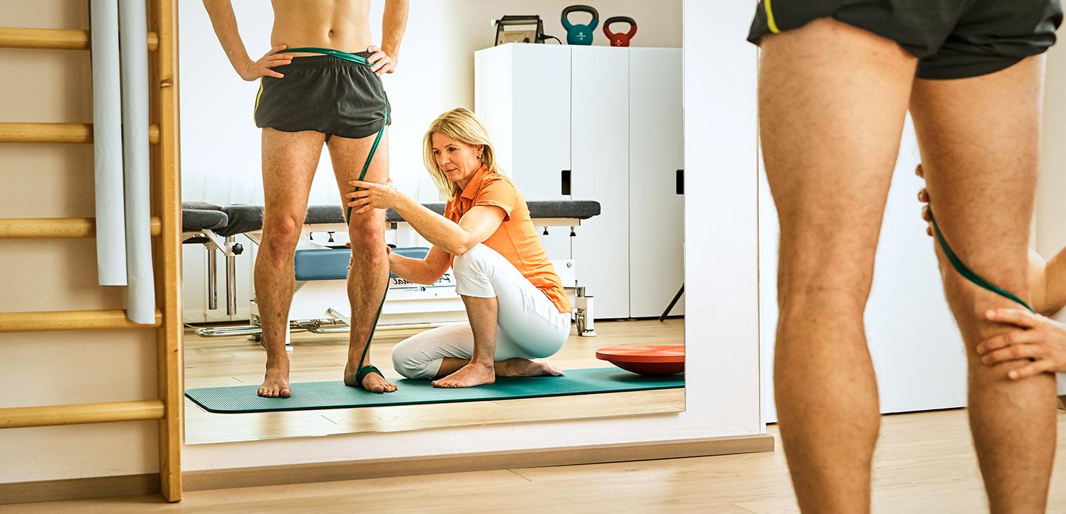 Physiotherapie Praxis von Angela Maier, Physiotherapeutin in Salzburg Nonntal