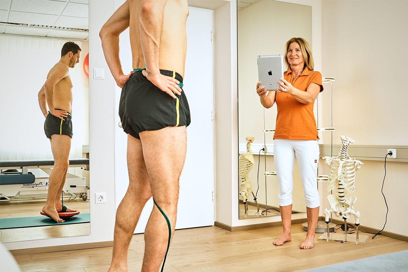 Bewegungscoachin Salzburg - Physiotherapeutin Angela MAier erstellt Ihnen Ihr persönliches Trainingsprogramm